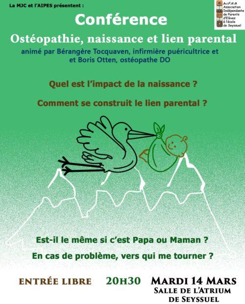 Troisième conférence sur la parentalité !