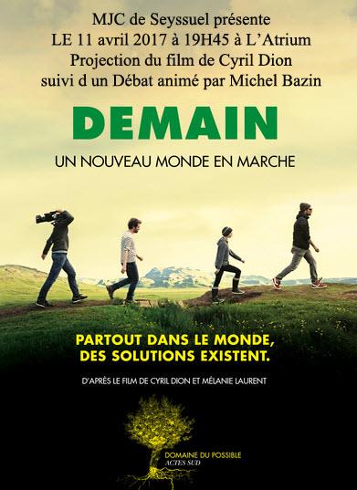 Ciné/Débat du film DEMAIN