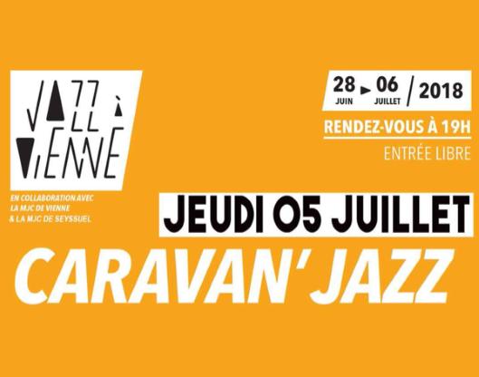 Caravan'Jazz 2018, à Seyssuel